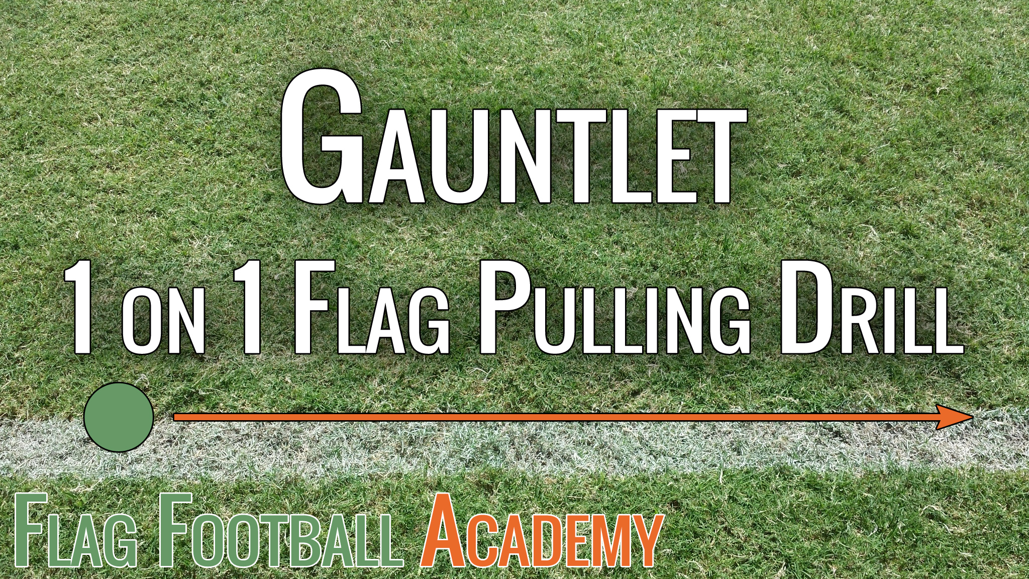The Gauntlet – Flag Pulling Drill