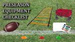 Pre-Season Equipment Checklist