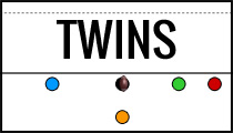Flag Football Plays - Twins Formation