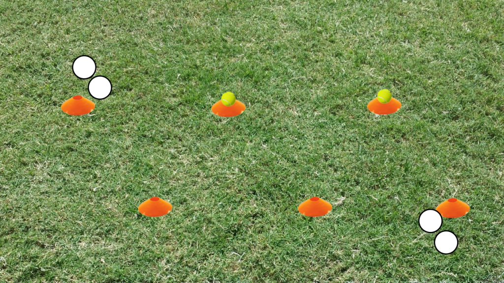 flag football drill - 45s - final setup