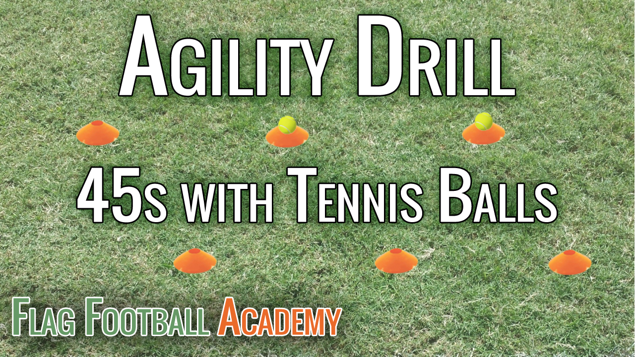 45s with Tennis Balls – Speed and Agility Drill