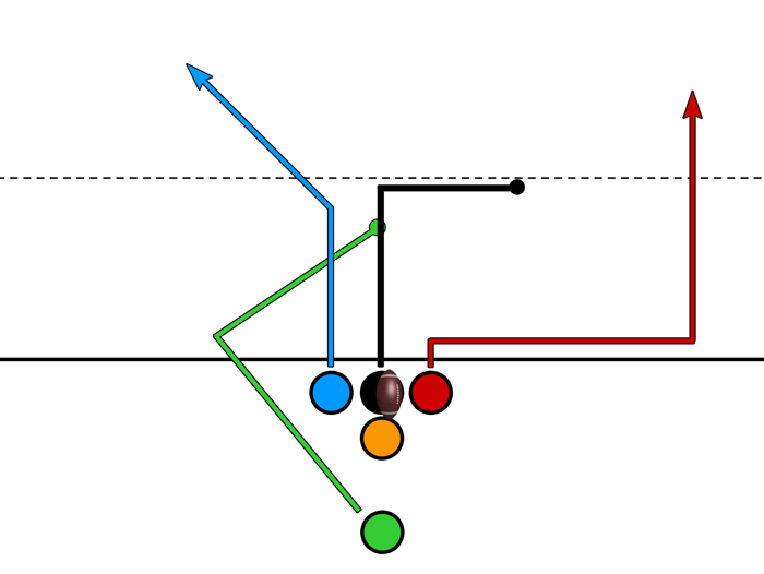 Tight – 2 Deep Options – Wheel Route
